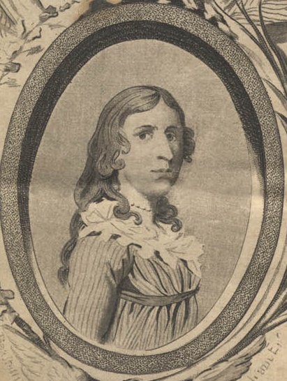 Picture of Deborah Sampson/Benjamin Gannett, A women who disguised herself as a man