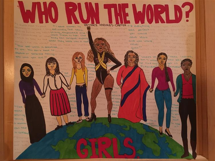Picture of Who Run The World? Girls.