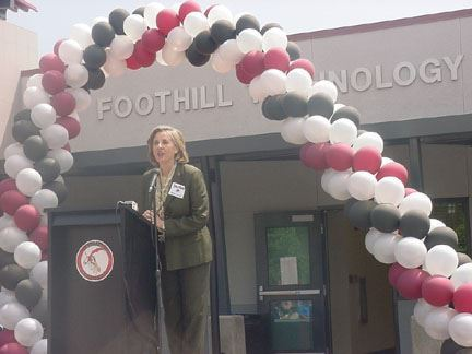 Judy Warner at Foothills Technology High School