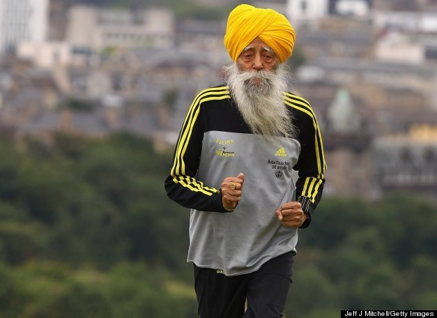 Picture of Sports Hero: Fauja Singh by Ishwinder Kaur Battoo from San Diego