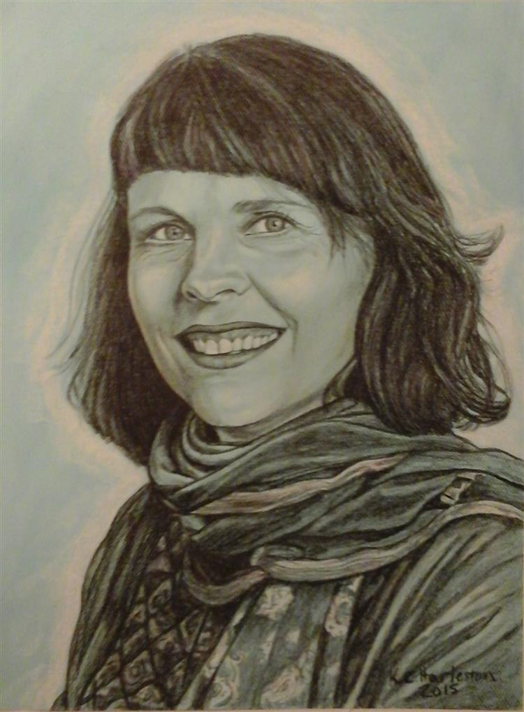 Picture of Birgitta Jonsdottir, 2015 by K E Harleston