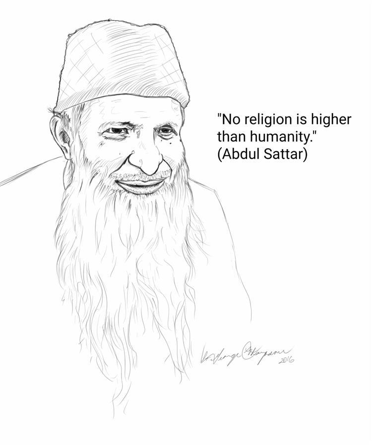 Picture of Abdul Sattar Portrait