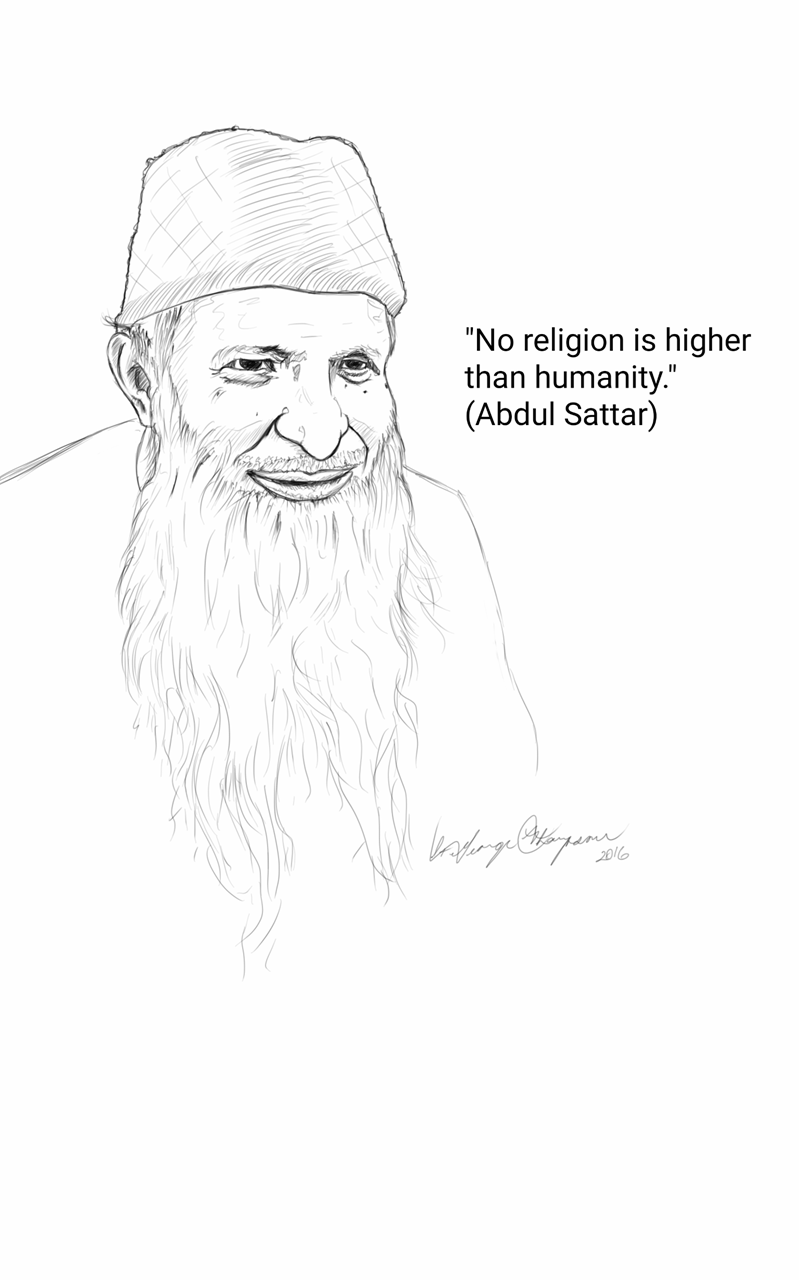Picture of Abdul Sattar Edhi