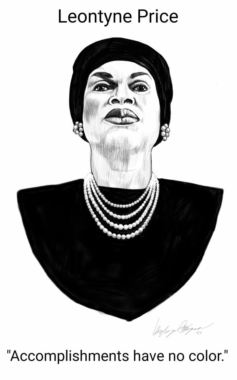 Picture of Leontyne Price by Saint George