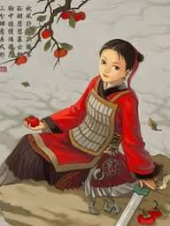 Picture of Literary Hero: Hua Mulan by Lydia from Newmarket
