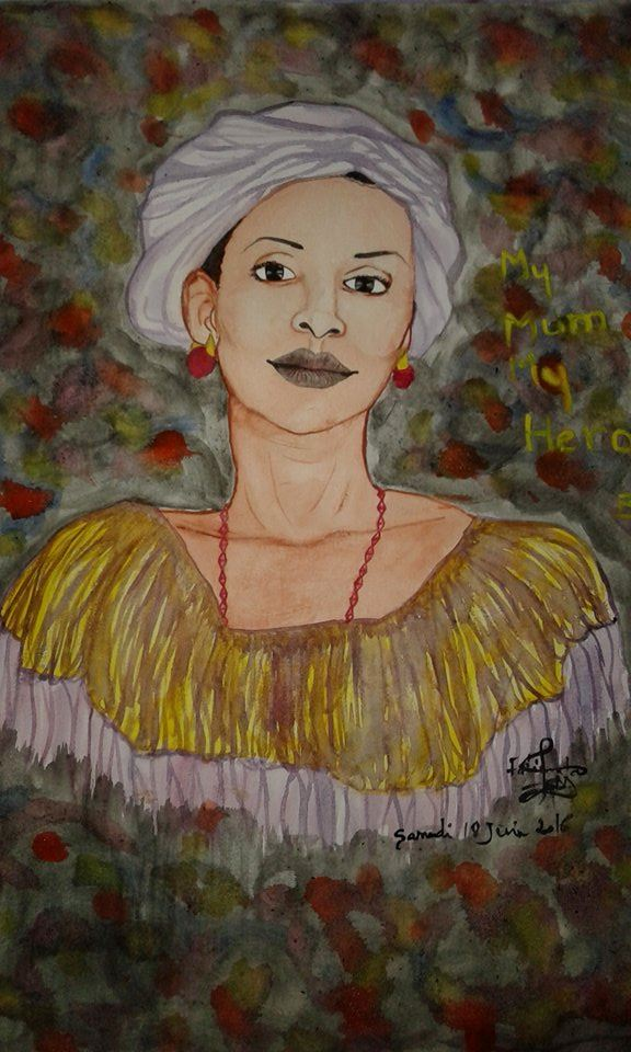 Picture of My Mom by Fatimatah Bindi Diallo from Senegal