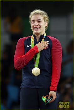 Picture of Sports Hero: Helen Maroulis by Emily
