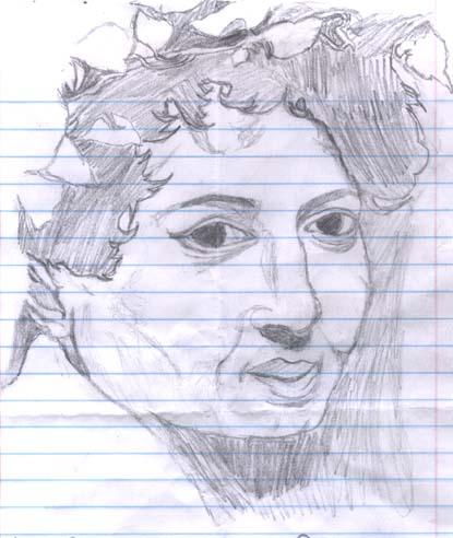 Picture of Caravaggio's Bacchus( a version)