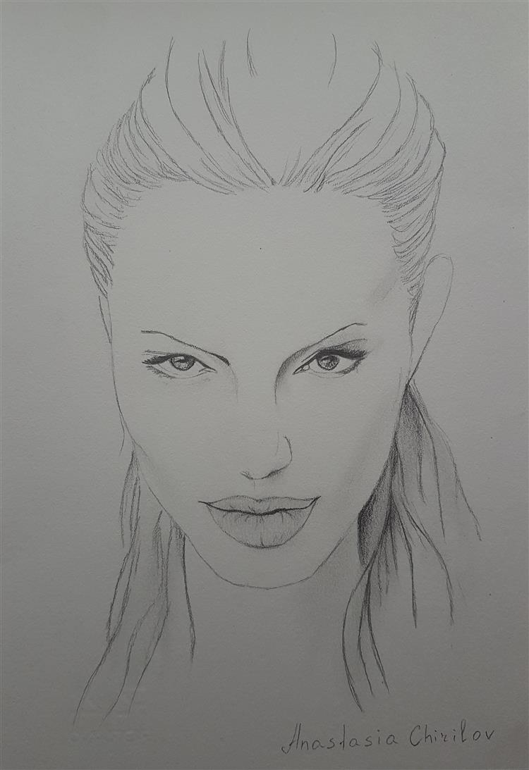 Picture of Angelina Jolie by  Anastasia Chirilov