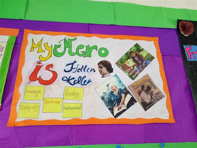 Picture of Admirer-My hero is Helen Keller by Babita