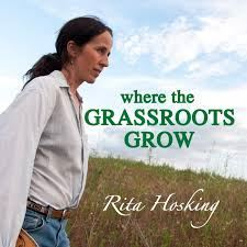 Picture of Where the Grassroots Grow written by Rita Hosking