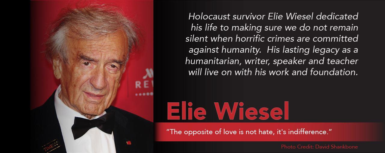 Elie Wiesel - excerpt from The MY HERO Book