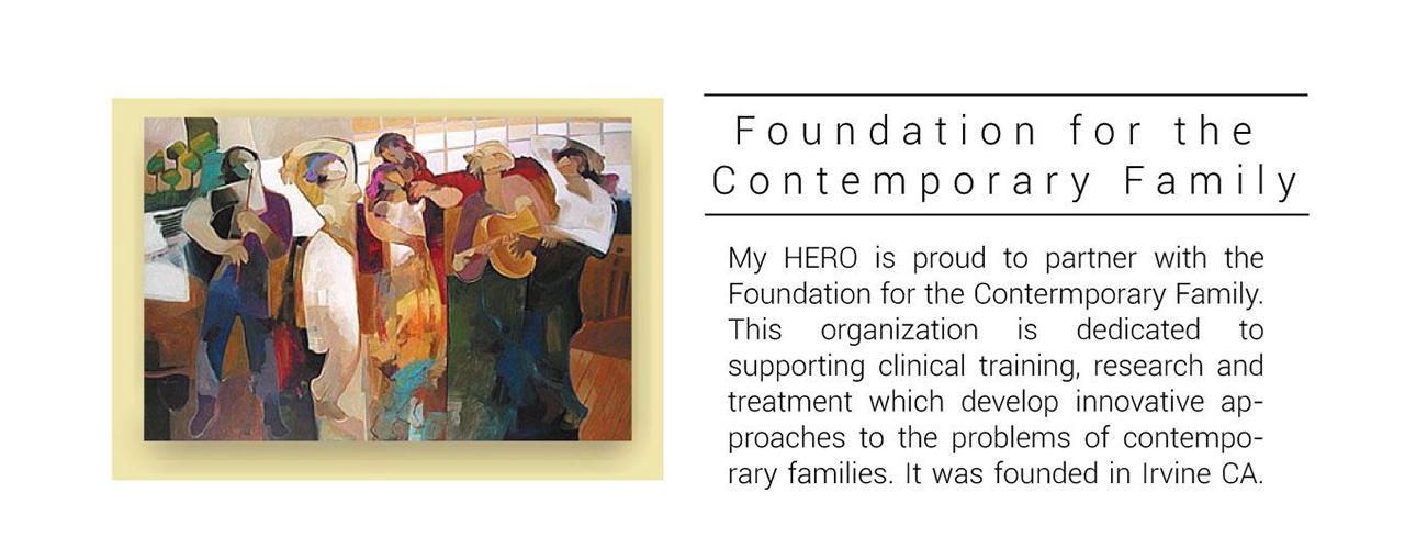 myhero- partner Foundation for the Contemporary Family