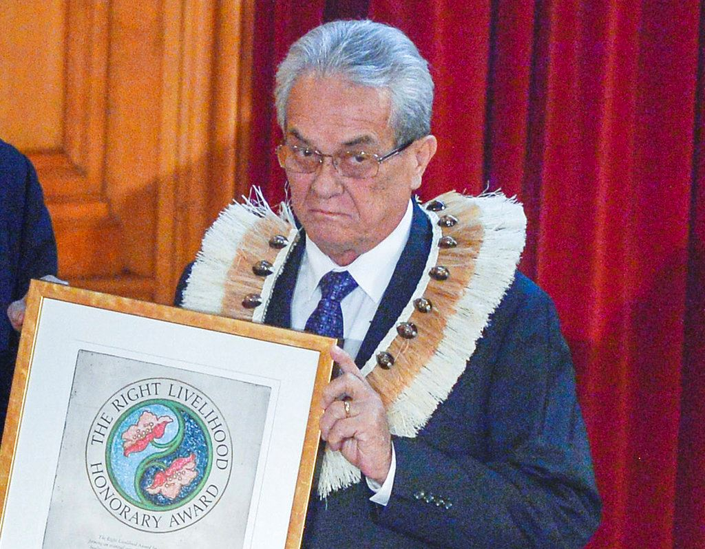 Picture of Tony de Brum, global voice for fighting climate change, dies