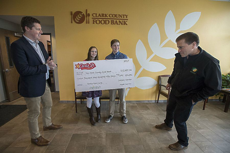 Picture of Teen siblings raise nearly $110,000 to fight hunger in Washington State