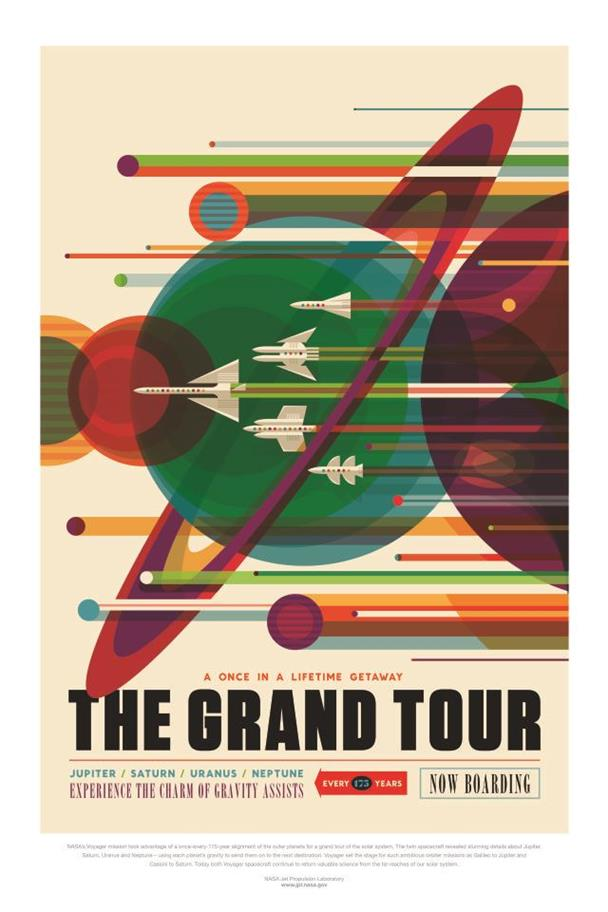 Picture of NASA The Grand Tour Poster