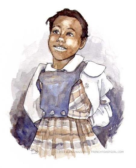 Picture of Ruby Bridges by Elena Nazzaro