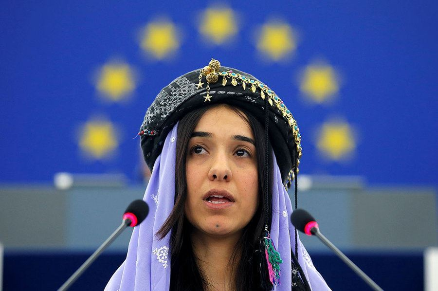 Picture of Reluctant champion: How Nadia Murad has become the international face of Yazidi suffering – and resilience
