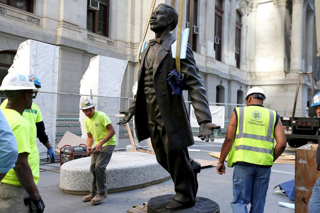 Picture of Philadelphia to honor black activist with City Hall statue
