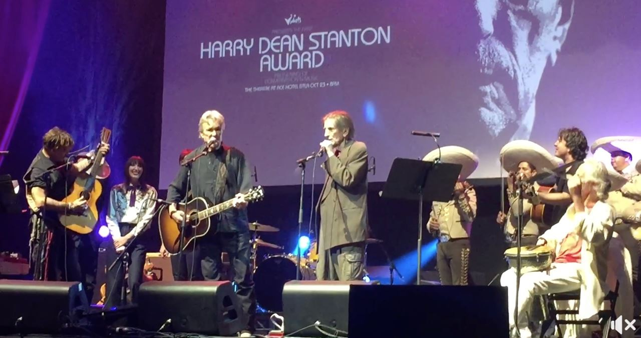 Picture of Harry Dean Stanton Award @ Ace Hotel