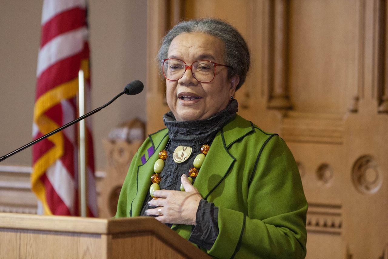Marian Wright Edelman of Children's Defense Fund