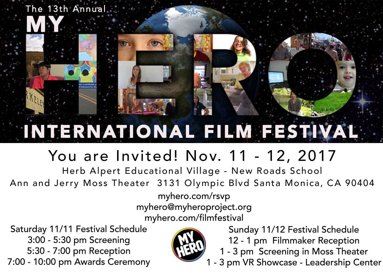 Picture of 2017 MY HERO International Film Festival Set for November 11-12