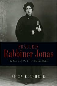 Picture of Fraulein Rabbiner Jonas : The Story of the First Woman Rabbi