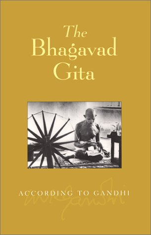 Picture of The Baghavad Gita According to Gandhi