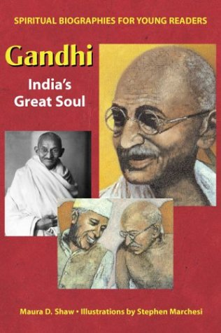 Picture of Gandhi: India''s Great Soul (Spiritual Biographies for Young Readers)