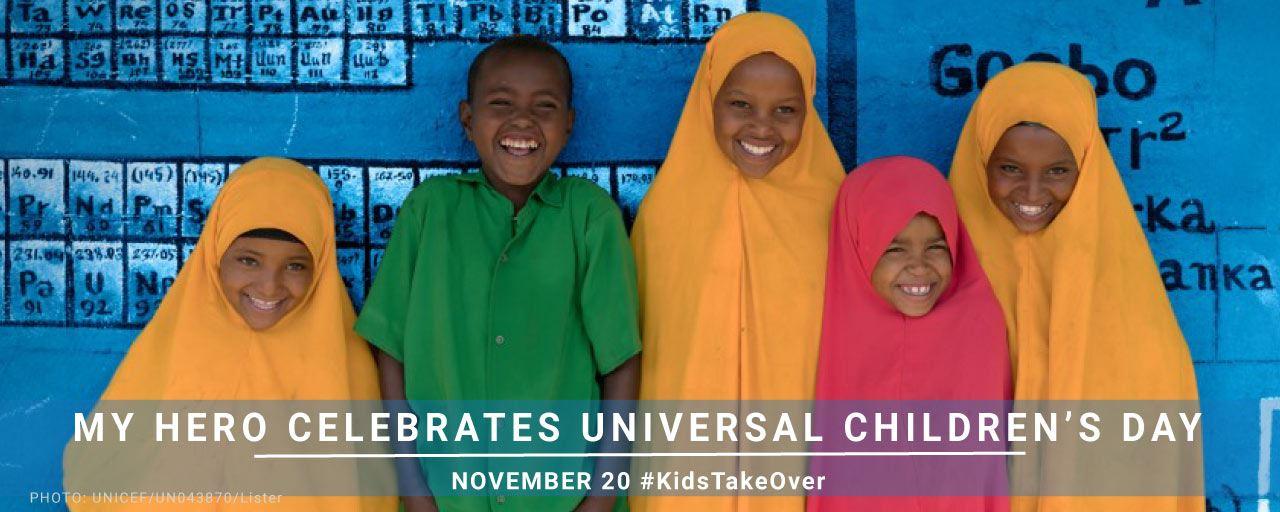 November 20 is Universal Children's Day