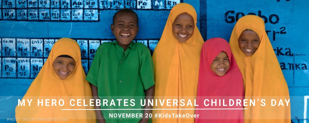 November 20 is Universal Children's Day