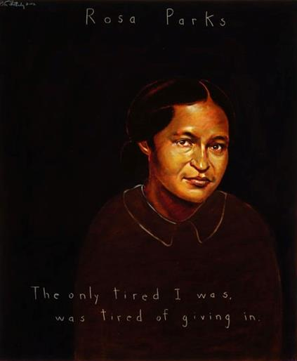 Picture of Rosa Parks by Robert Shetterly