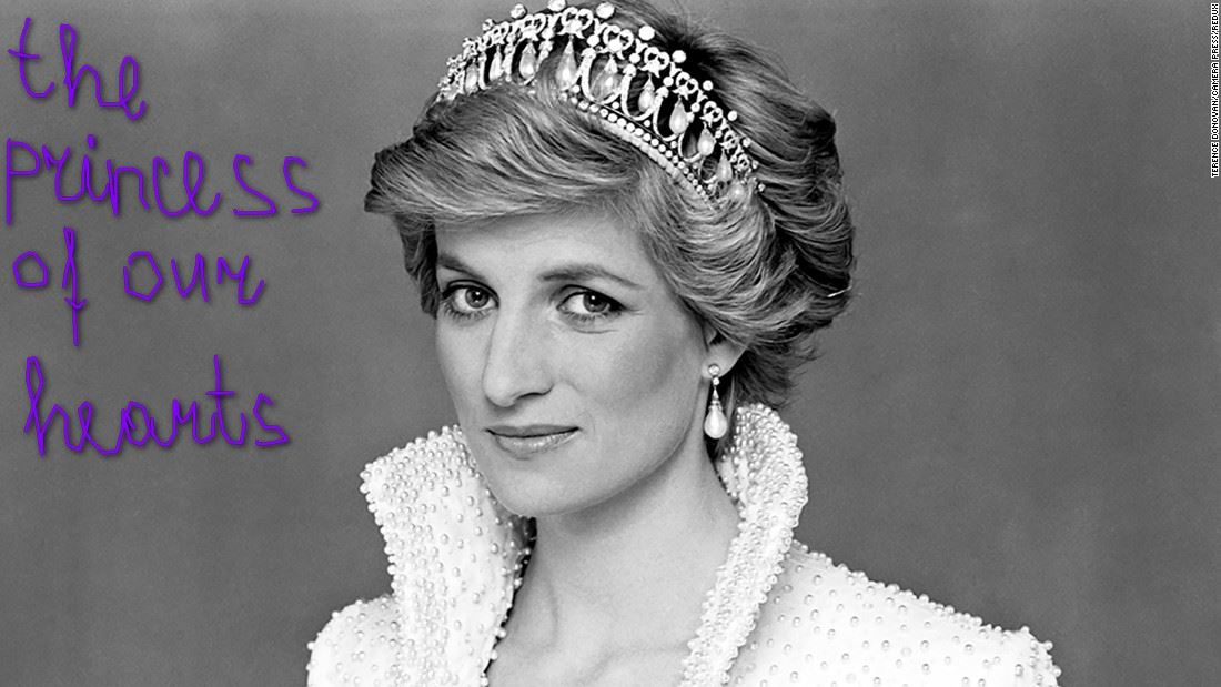 a discussion on the life of princess diana