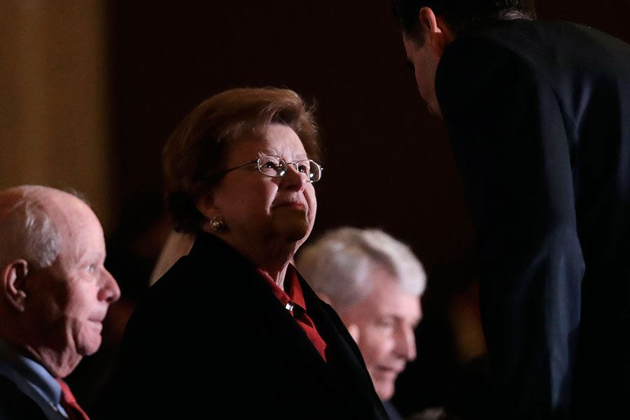 Picture of Barbara Mikulski: How a 4-foot-11 supernova changed the Senate