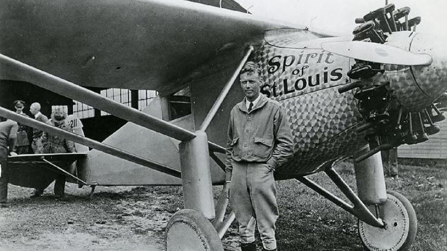 Picture of Charles Lindbergh: A Hero in the Sky