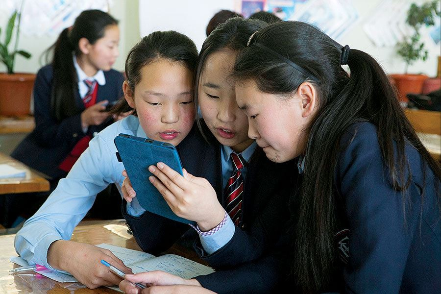 Picture of A digital solution when children can't find books in their mother tongue