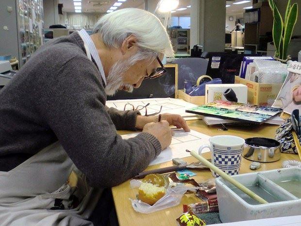 Picture of Hayao Miyazaki