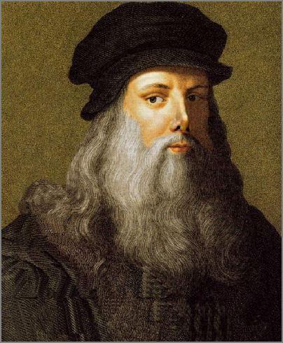 Leonardo Da Vinci My Hero