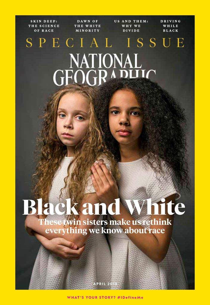 Picture of National Geographic acknowledges past racist coverage
