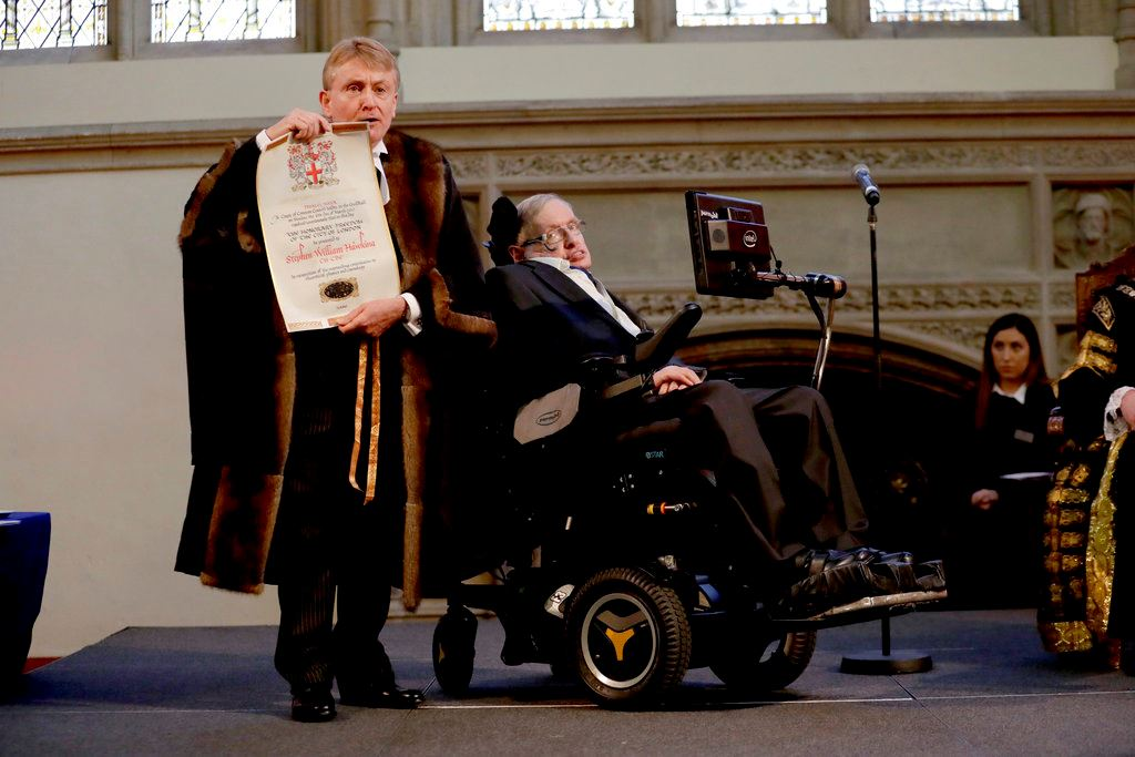 Picture of Lack of evidence put Hawking's Nobel hopes in black hole
