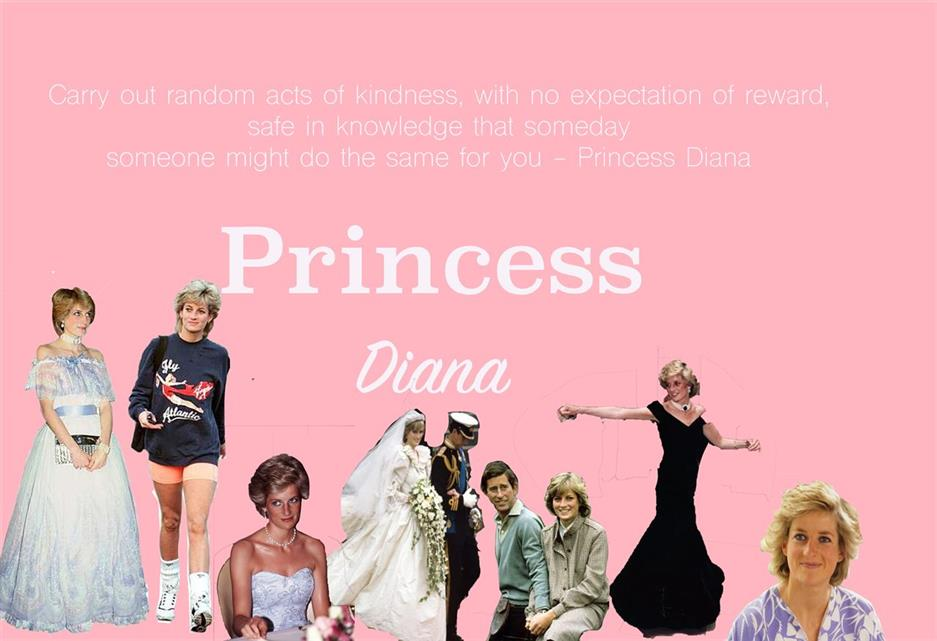 Picture of Princess Diana by Caeli Harp of Kentucky