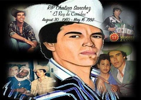Picture of Chalino Sanchez by students from Shelbyville, Kentucky