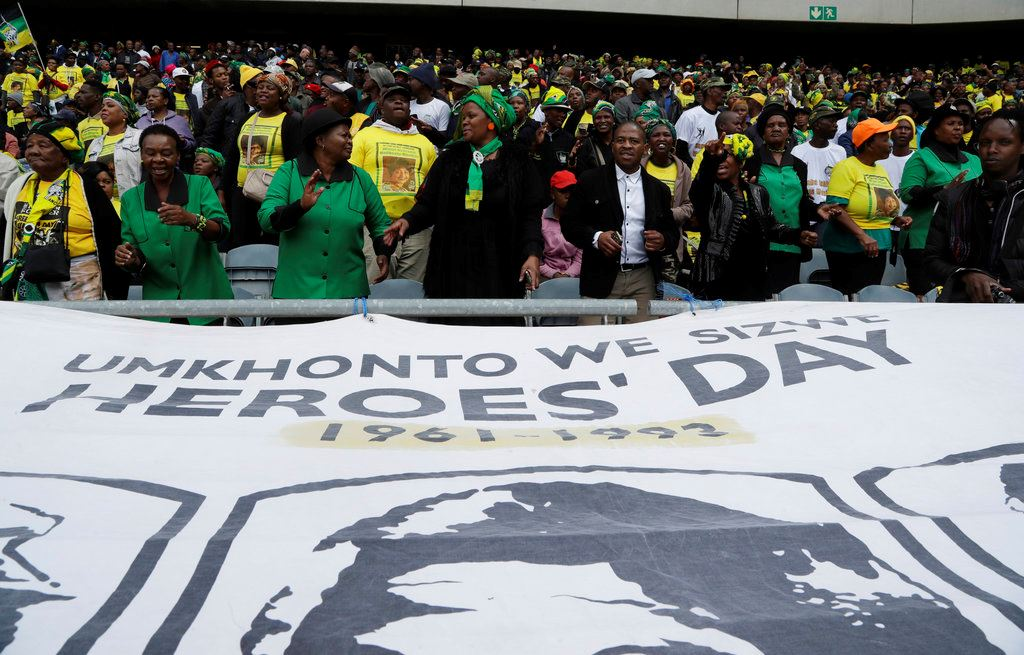 Picture of Thousands gather for memorial for Winnie Madikizela-Mandela