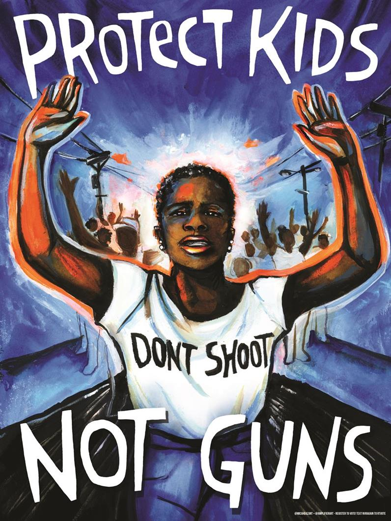 Picture of Protect Kids Not Guns by Micah Bazant/ Amplifier