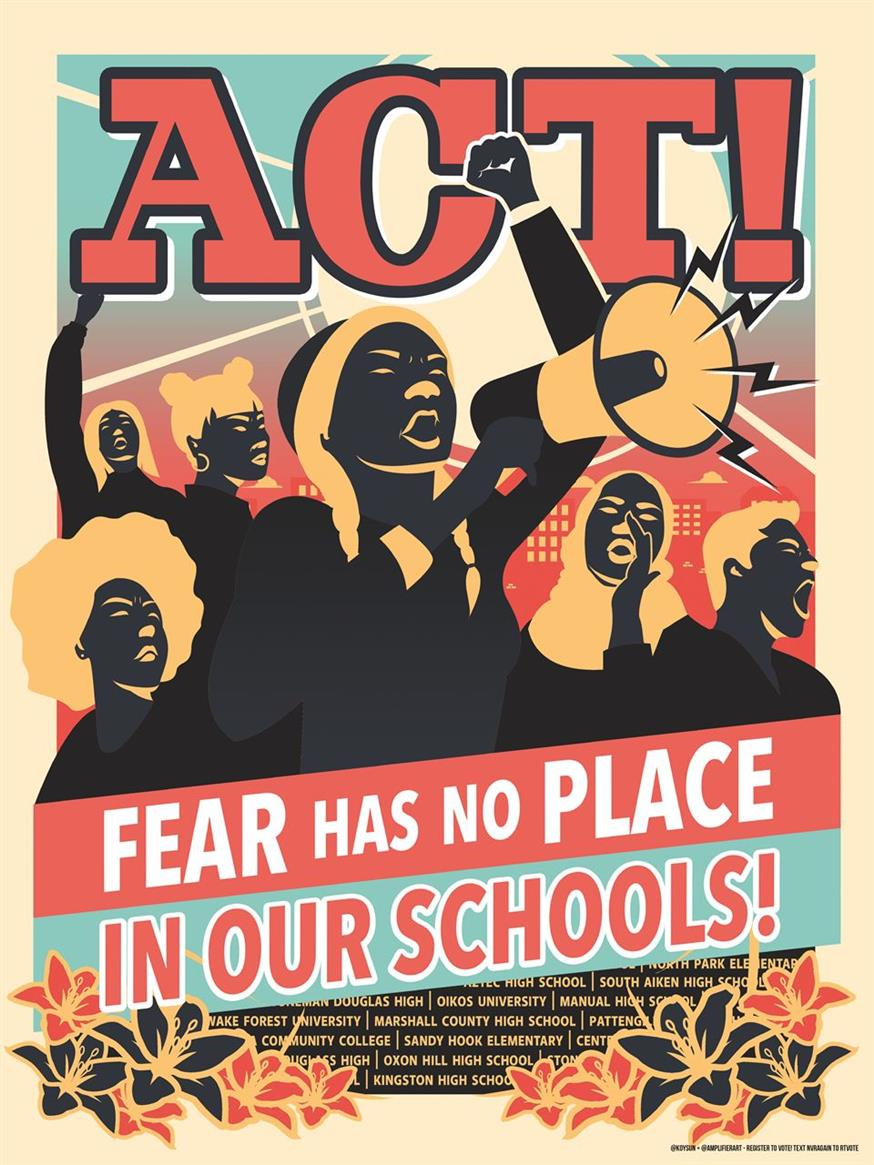 Picture of Act! Fear Has No Place by Koy Suntichotinun