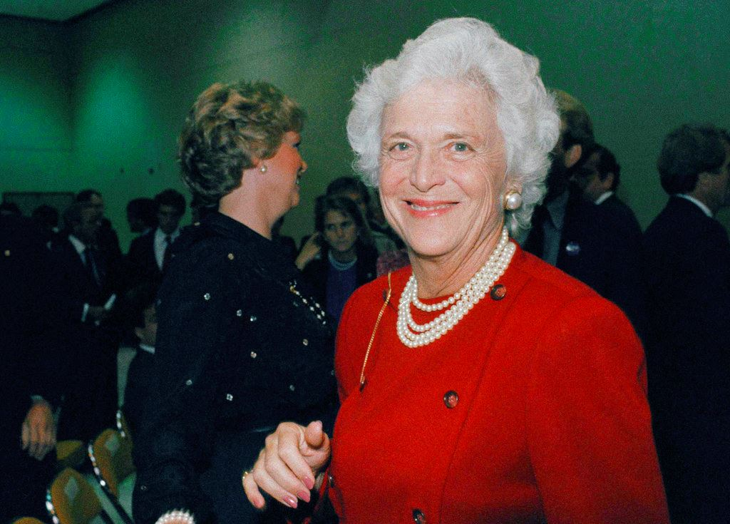 Picture of Former first lady Barbara Bush dies at age 92