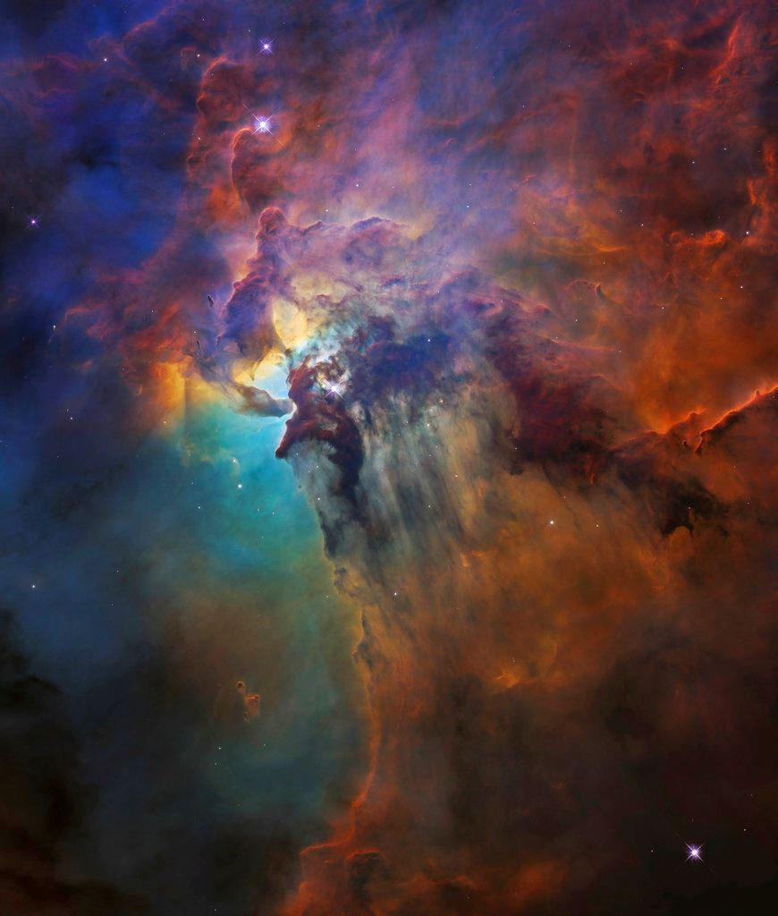 Picture of Hubble's 28 years marked by shot of wild stellar nursery