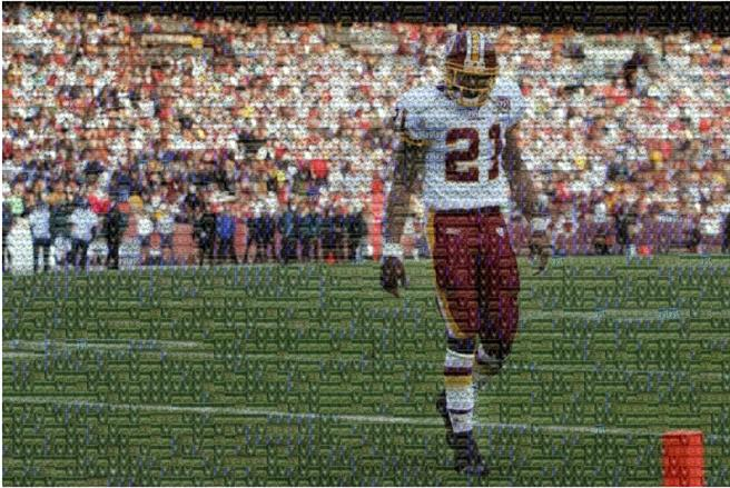 Picture of A Beast in Disguise, Sean Taylor by Erek Campbell