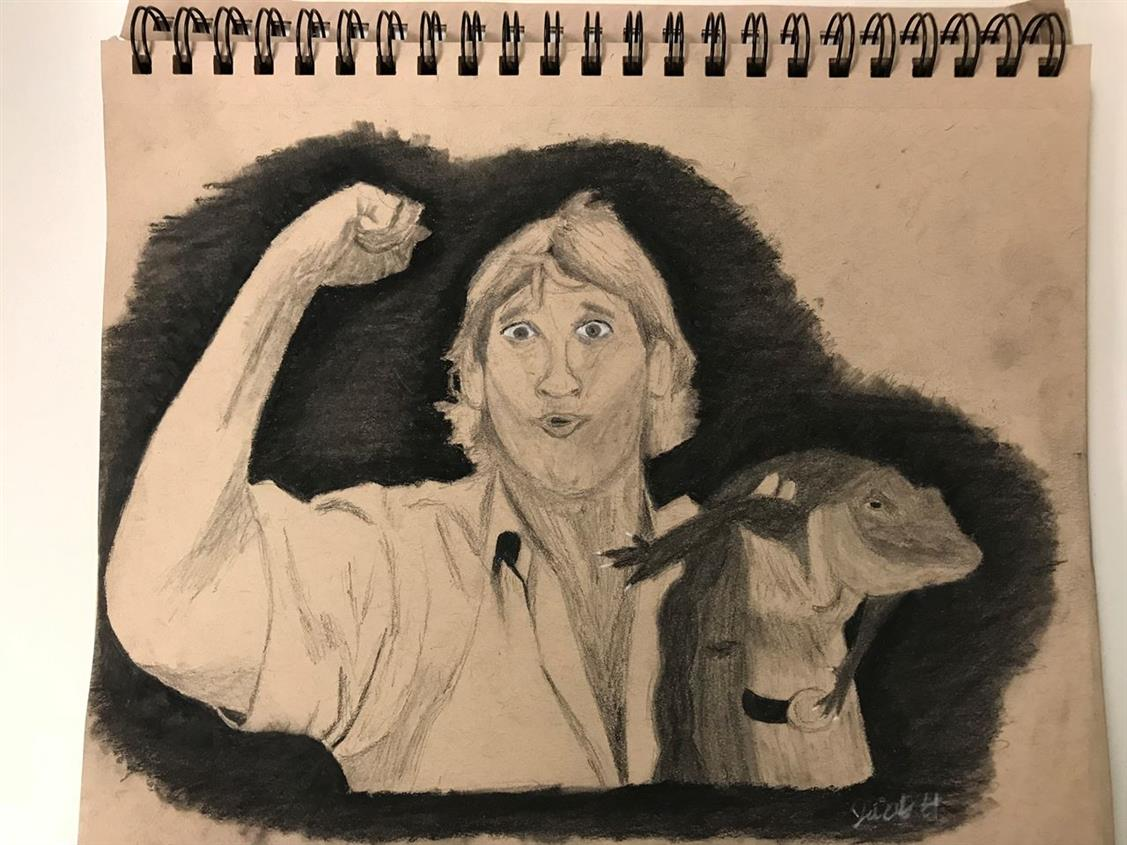 Picture of Crikey! Steve Irwin by J Hackney from Memphis