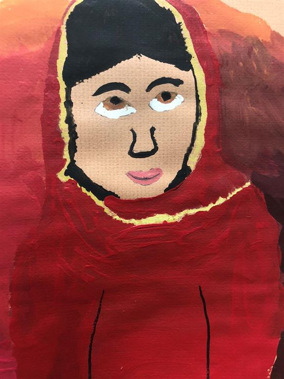 Picture of Malala by Sophie Schaefer, Boys & Girls Club, LB